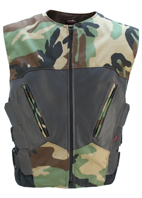 Interceptor Woodland Camo Vest