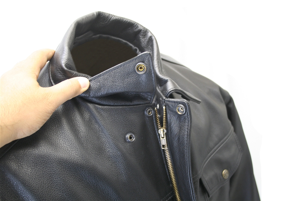 American made Jean Leather Jacket, crafted from 1.0-1.2 mm (2½-3 ...