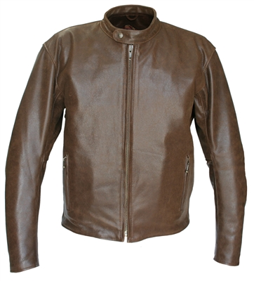 Hillside Leather Vintage Racer Jacket
