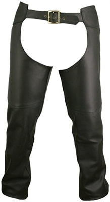 Men's Double Stitched Custom Leather Chaps