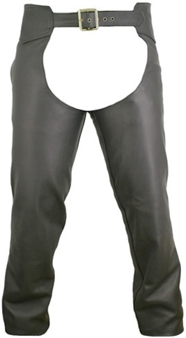 Men's Seamless Leather Chaps. Our Riding Chaps are built to last, providing ultimate grip, comfort and protection. Made from the finest heavyweight 1.6-1.8 mm (4-41/2 oz) Soft, Supple, and Thick Cowhide Naked leather. YKK antique brass hardware. Hillside