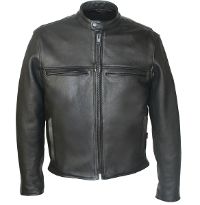 Men's Cafe Racer Jacket Reflector