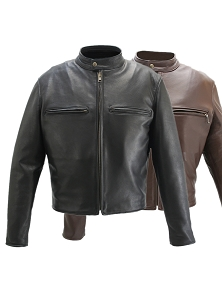Men's Hillside USA Cafe Racer Jacket