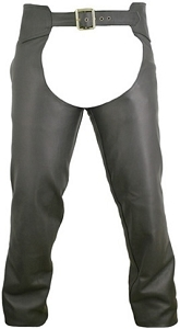 Men's Seamless Leather Chaps