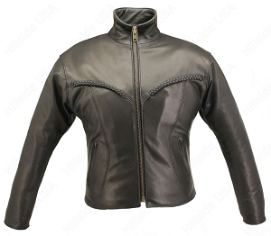Women's Braided Riding Jacket