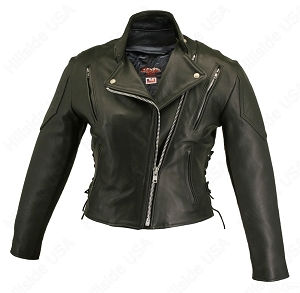 Women's Vented Biker Jacket