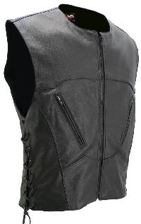 Interceptor Lace Side Biker Vest (Custom-Made)