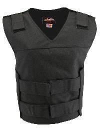 Women's Black Cordura Bulletproof Style Vest (Custom-Made)