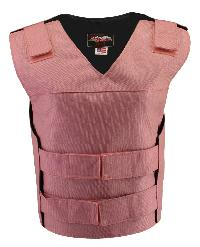 Women's Pink Cordura Bulletproof Style Vest (Custom-Made)