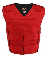 Women's Red Cordura Bulletproof Style Vest (Custom-Made)