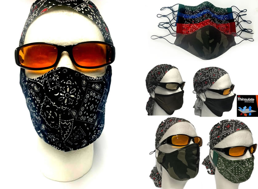 USA MADE Washable/Reusable Face Mask- Elastic adjustable earloop