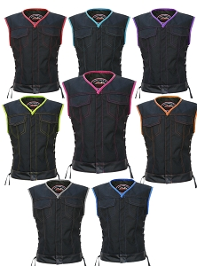 Women's Club Style Vest (CORDURA - MILITARY GRADE FABRIC)