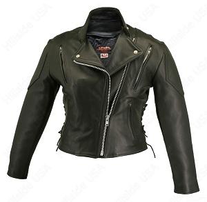 Women's Vented Biker Jacket