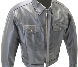 Hillside USA's Jean Leather Jacket (SALE)