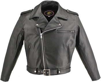 Men's Classic Highwayman Horsehide Jacket