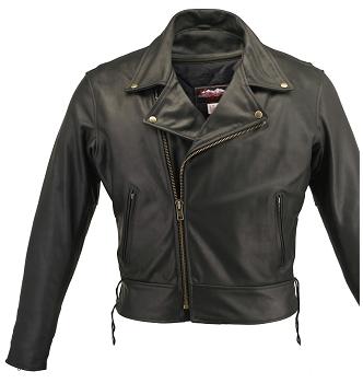 Men's Beltless Biker Jacket