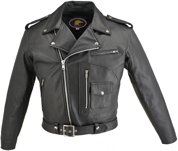 Men's D Pocket Horsehide Motorcycle Jacket (SALE)