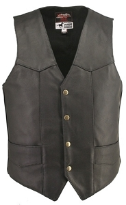 Men's Horsehide Basic Vest (Custom)
