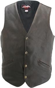 The Classic Vintage Leather vest