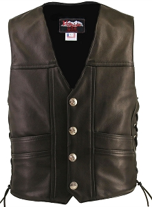 Cruiser Leather Vest (Custom)