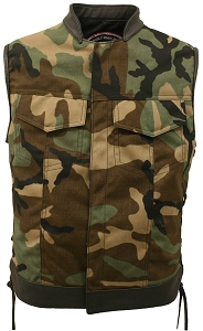 Club Cut Side Lace Military grade fabric ( Cordura) Woodland Camo