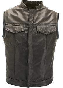 Club Style Biker Vest Custom- Made