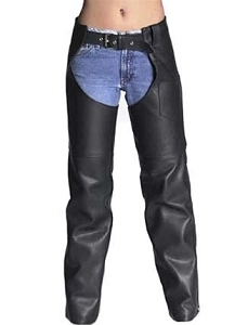 Woman's Classic  Motorcycle Chaps