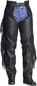 Woman's Fringe & Braid Chaps (Custom)