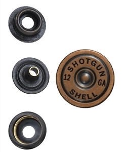 Copper Shotgun Shell Snap Head