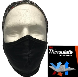 Hillside Protective Face Mask Tie-back - Black