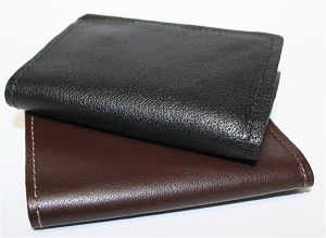Horsehide Tri-Fold Wallet w/ Window