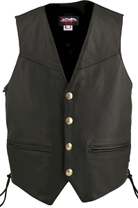 Men's Defiance Biker Vest (Custom)