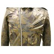 All Leather Camouflage Biker Jacket (Custom-Made) Zoom