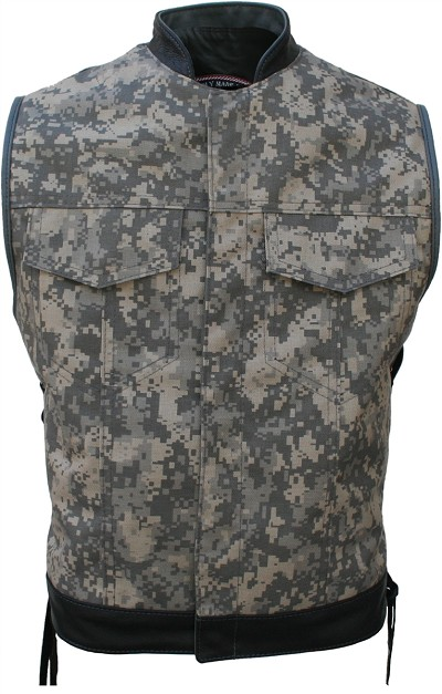 Digital Camo Club cut (Cordura - Military grade fabric)