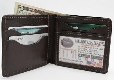 Horsehide Bi-Fold Wallet