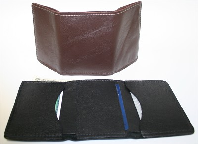 Horsehide Tri-Fold Wallet