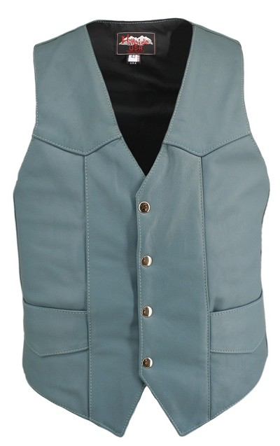 Men's Baby Blue Basic Vest