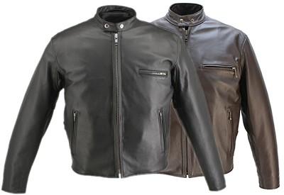 """Men's Cafe """"Racer"""" Horsehide Jacket"""