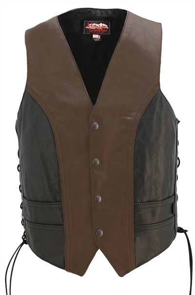 Two Tone Lightweight Biker Vest
