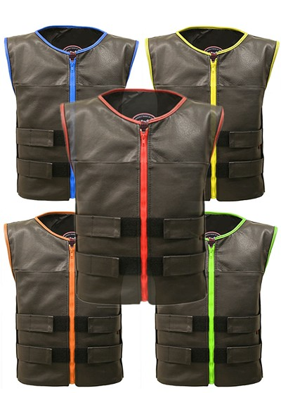 Men's Zippered Tactical Vest with Gun Pockets (Custom-Made)