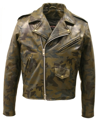 Men's leather jackets | Leather coat and biker jackets | Hillside ...