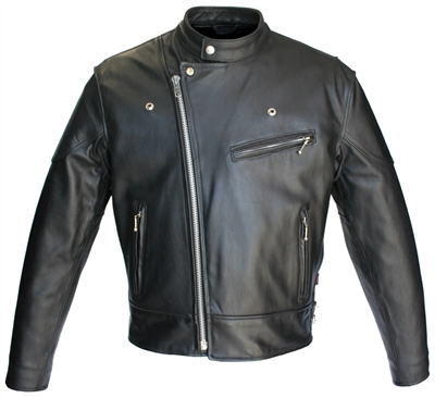 Hillside USA Hybrid Horsehide Biker Jacket