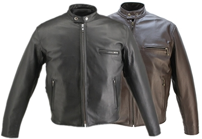Cafe Racer Horsehide Jacket