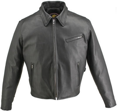 Men's Horsehide Racer Jacket