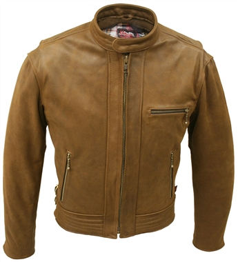 Vintage Racer Leather Jacket