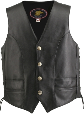 Horsehide Motorcycle Jackets & Vests by Hillside USA