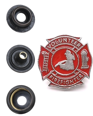 Volunteer Firefighters Snap Cap